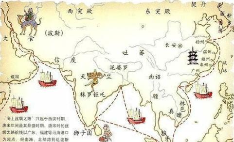 海上丝绸之路是什么时候发展起来的?海上丝绸之路的起点是哪里?