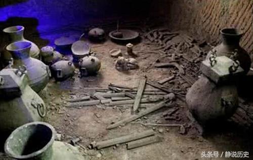 一座超大陵墓被反复洗劫 但有两样东西盗墓贼不敢碰 专家却敢碰