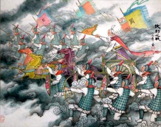 牧野之战的背景介绍 牧野之战爆发的起因是?